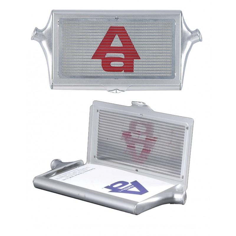 AUTO ART INTERCOOLER CARD HOLDER (ALUMINIUM) GADGETS