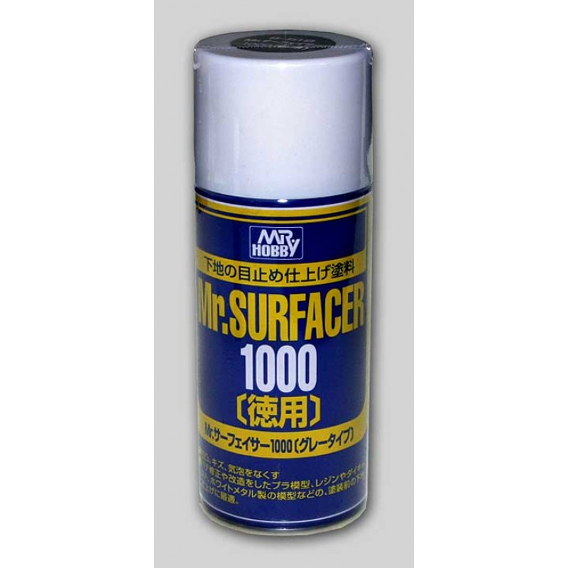 Mr. SURFACER 1000 GRAY 170ml SPRAY