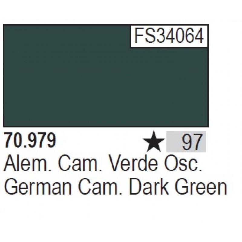 GERMAN CAM. DARK GREEN 17ml ΑΚΡΥΛΙΚΑ ΜΑΤΤ ΧΡΩΜΑΤΑ 17ml