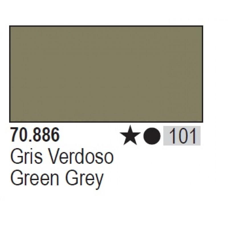GREEN GREY 17ml ΑΚΡΥΛΙΚΑ ΜΑΤΤ ΧΡΩΜΑΤΑ 17ml