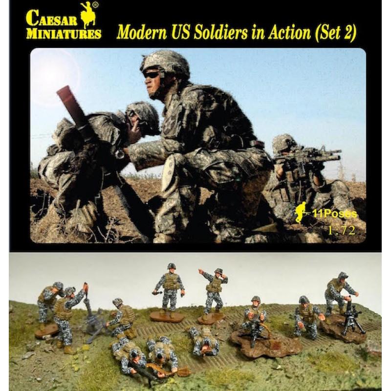 1/72 MODERN U.S. SOLDIERS IN ACTION (Set 2) ΦΙΓΟΥΡΕΣ  1/72
