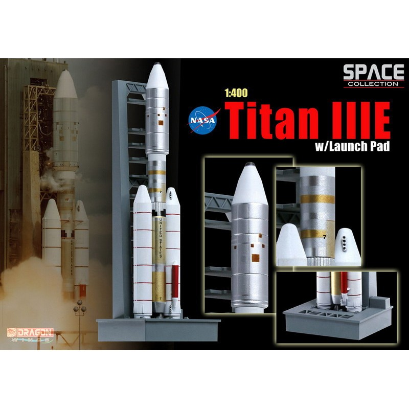 1/400 TITAN IIIE ROCKET w/ LAUNCH PAD ΔΙΑΦΟΡΑ ΜΟΝΤΕΛΑ