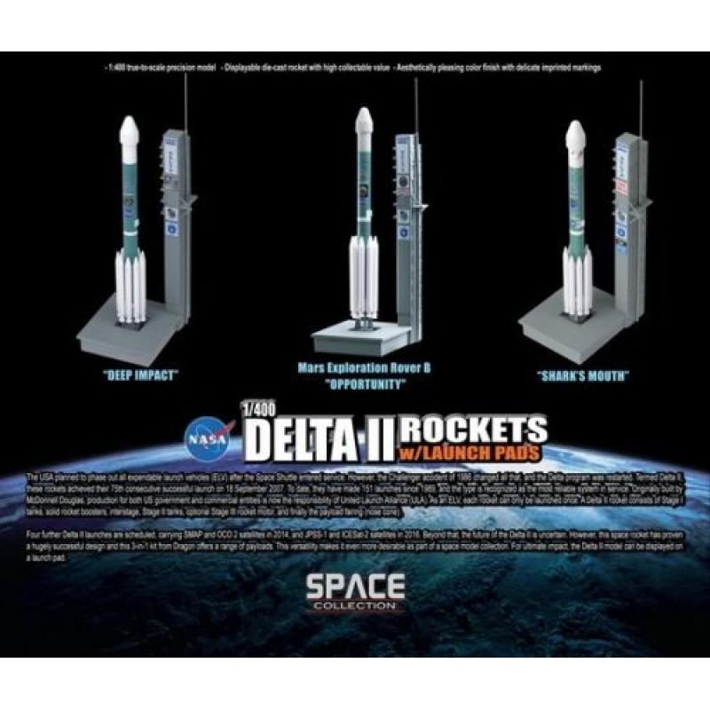 1/400 DELTA II ROCKETS w/ LAUNCH PADS 3-pcs Set ΔΙΑΦΟΡΑ ΜΟΝΤΕΛΑ