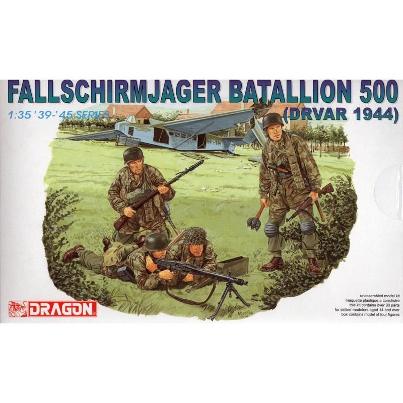 1/35 FALLSCHIRMJAGER BATALLION 500 (DRVAR 1944) ΦΙΓΟΥΡΕΣ  1/35