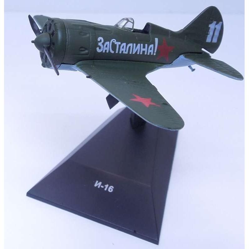 1/87 POLIKARPOV I-16 SOVIET AIR FORCE ΑΕΡΟΠΛΑΝΑ