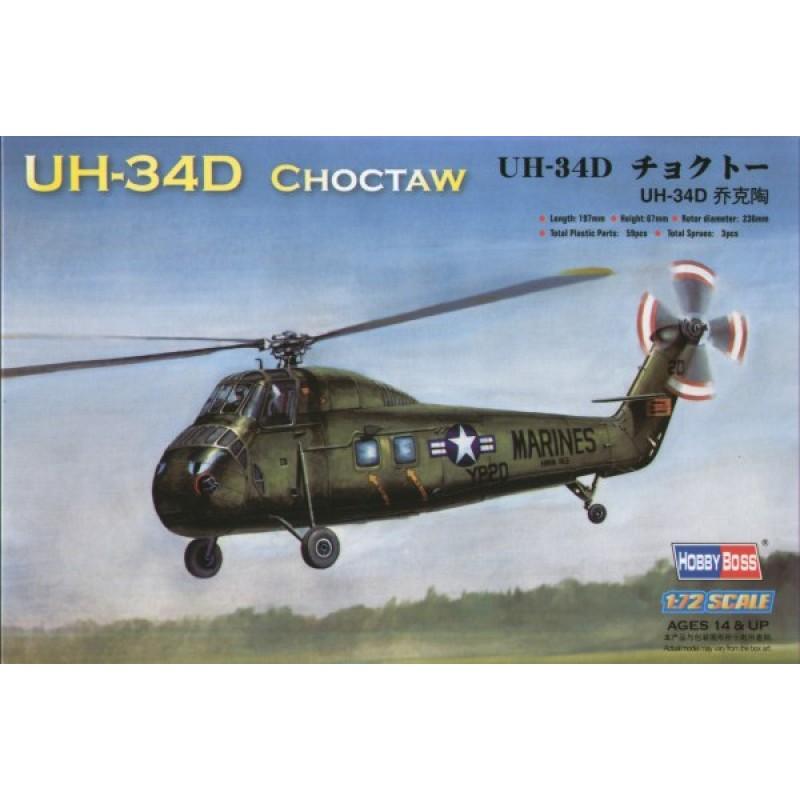 1/72 UH-34D CHOCTAW ΕΛΙΚΟΠΤΕΡΑ 1/72