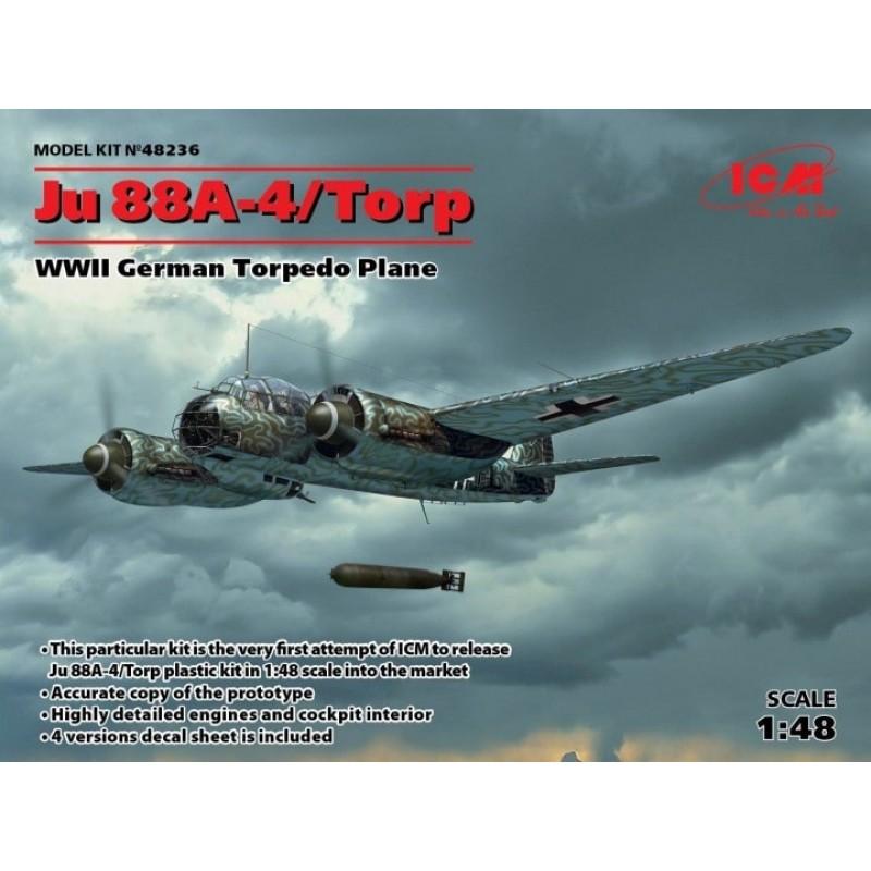 1/48 JUNKERS Ju 88A-4/TROP WWII German Torpedo Plane ΑΕΡΟΠΛΑΝΑ