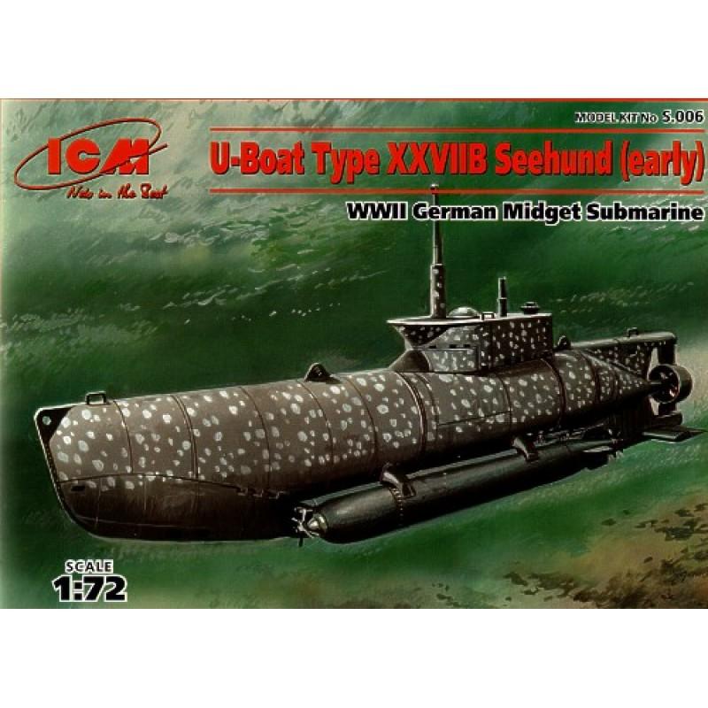 1/72 U-BOAT TYPE XXVIIB EARLY ΥΠΟΒΡΥΧΙΑ