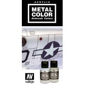 VALLEJO AIRBRUSH METAL COLOR