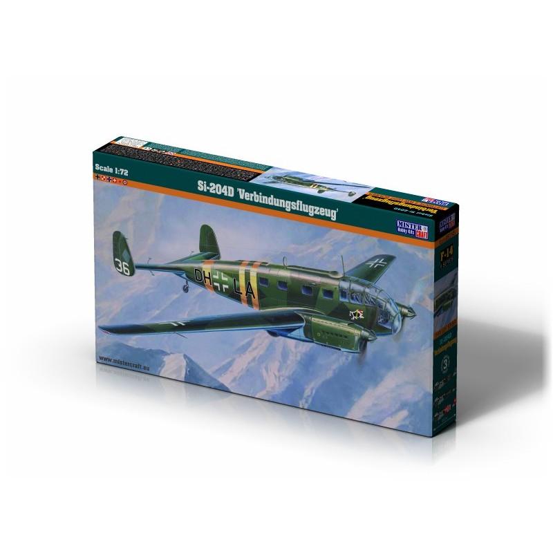 1/72 SIEBEL Si-204D ''VERBINDUNGSFLUGZEUG'' LUFTWAFFE WWII LIGHT BOMBER ΑΕΡΟΠΛΑΝΑ