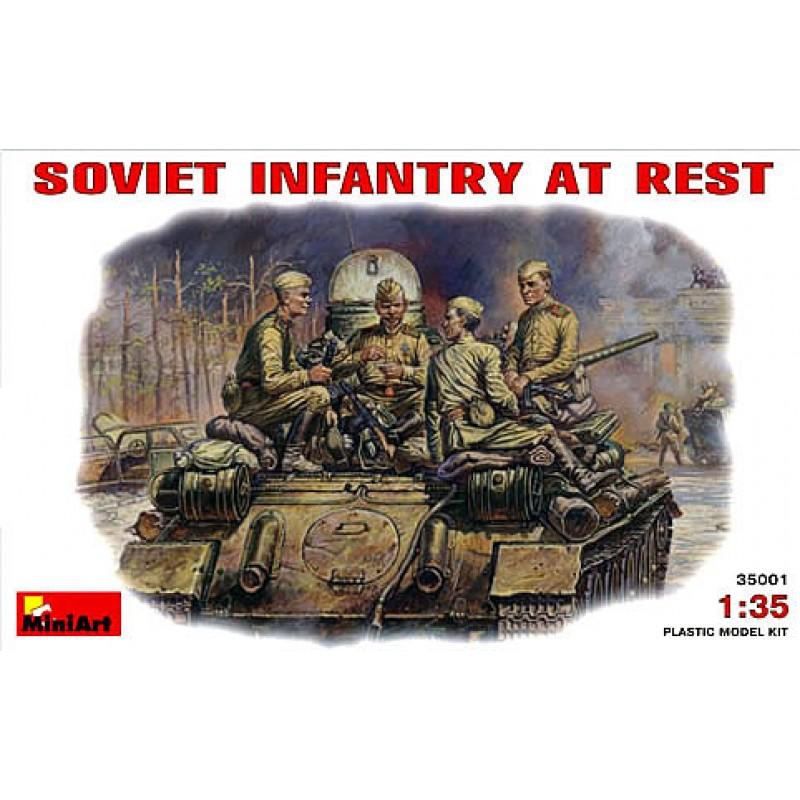 1/35 SOVIET INFANTRY AT REST ΦΙΓΟΥΡΕΣ  1/35