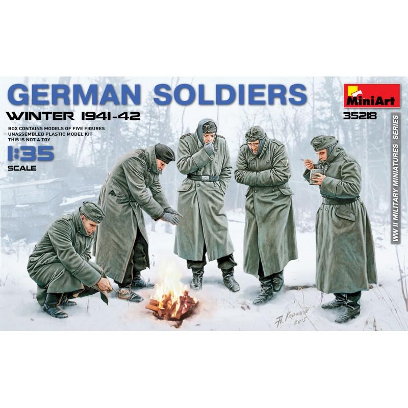1/35 GERMAN SOLDIERS WINTER 1941-42 ΦΙΓΟΥΡΕΣ  1/35