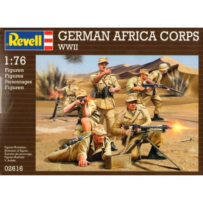 1/76 WWII GERMAN AFRICA CORPS ΦΙΓΟΥΡΕΣ  1/72