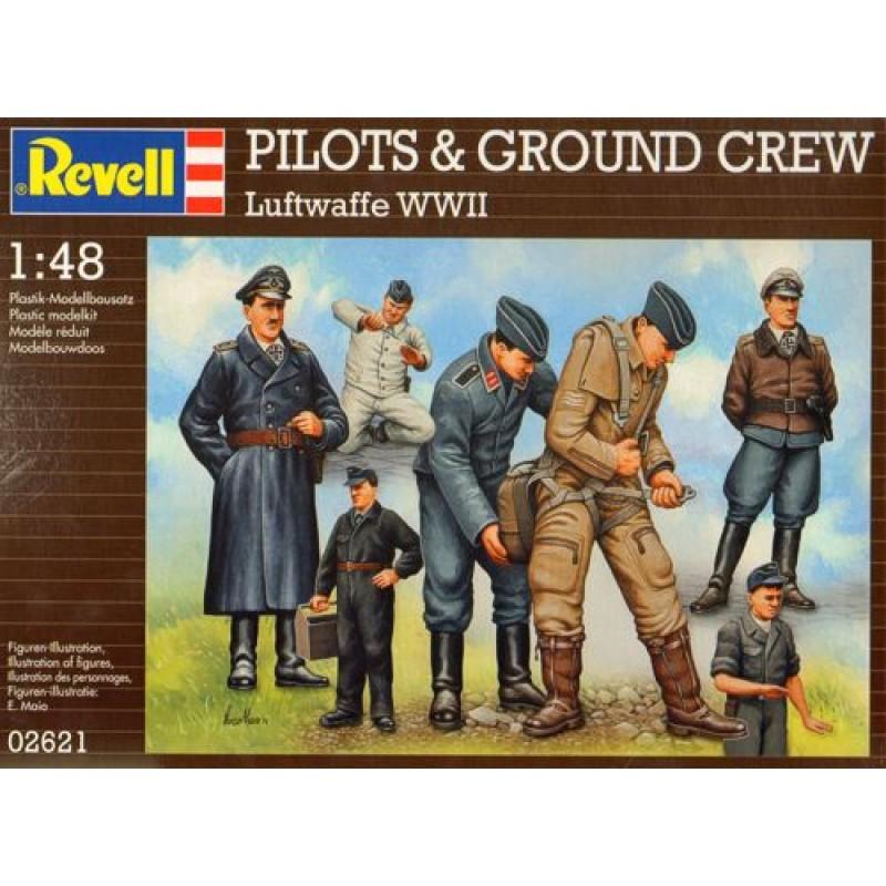 1/48 LUFTWAFFE PILOTS AND GROUND CREW ΦΙΓΟΥΡΕΣ  1/48