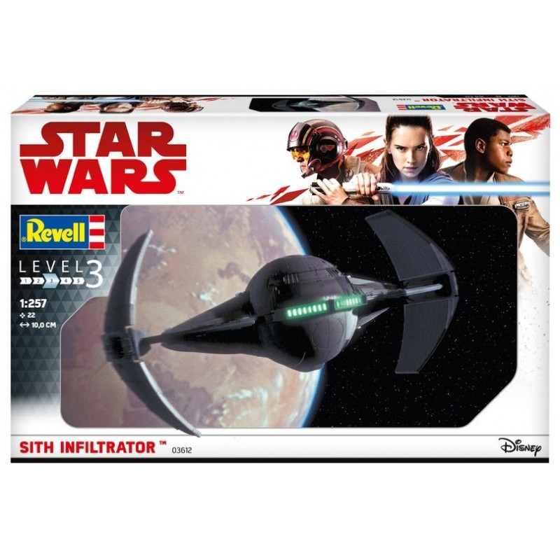 SITH INFILTRATOR STAR WARS- STAR TREK KITS