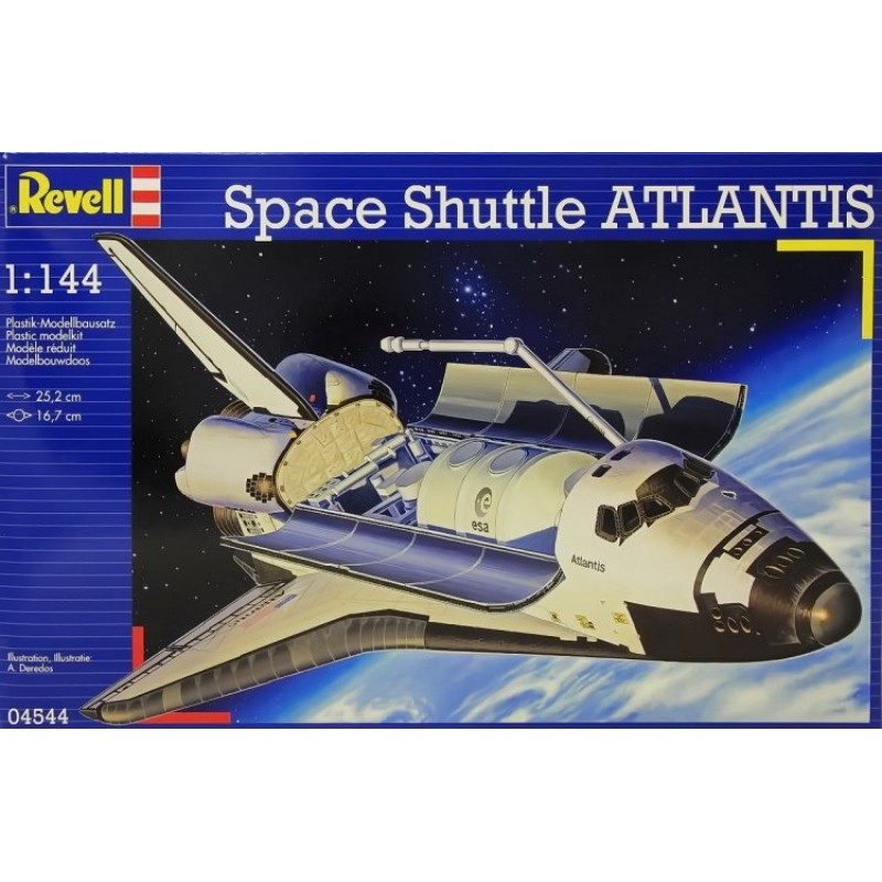 1/144 SPACE SHUTTLE ATLANTIS ΔΙΑΣΤΗΜΙΚΑ KITS
