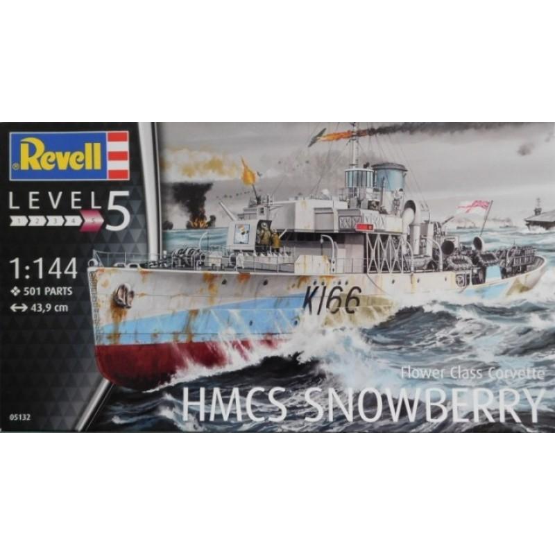 1/144 FLOWER CLASS CORVETTE HMCS SNOWBERRY ΠΛΟΙΑ
