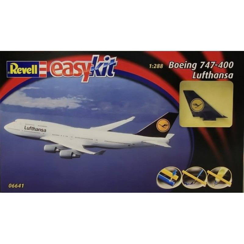 1/288 BOEING 747-400 LUFTHANSA (EASY KIT) ΠΟΛΙΤΙΚΑ ΑΕΡΟΠΛΑΝΑ