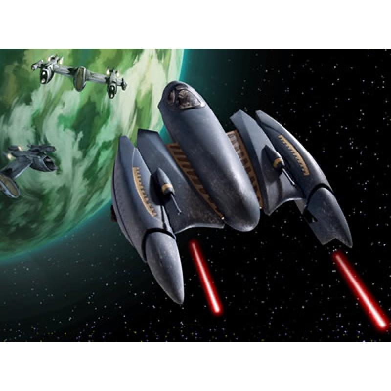GENERAL GRIEVOUS' STARFIGHTER (CLONE WARS) STAR WARS- STAR TREK KITS