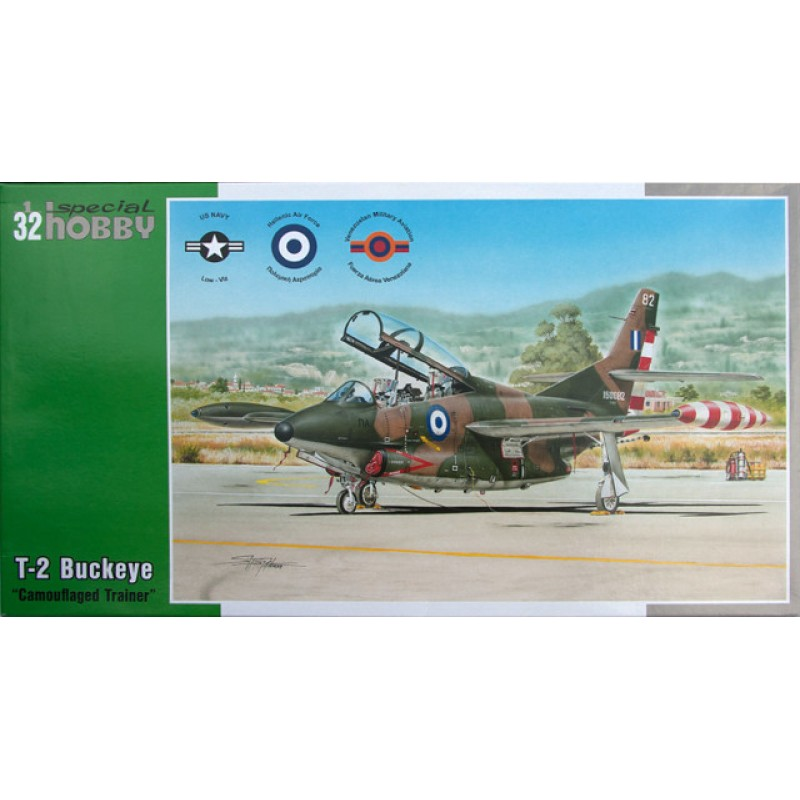 1/32 T-2 BUCKEYE 'CAMOUFLAGED TRAINER'(including Greek Decals) ΑΕΡΟΠΛΑΝΑ