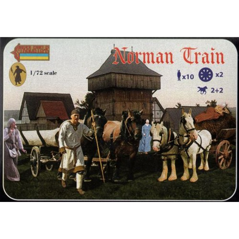 1/72 NORMAN TRAIN DARK AGES ΦΙΓΟΥΡΕΣ  1/72
