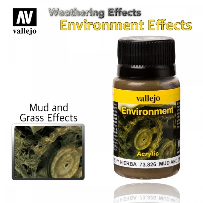 MUD AND GRASS EFFECTS 40ml ΤΕΧΝΙΚΕΣ ΠΑΛΑΙΩΣΗΣ