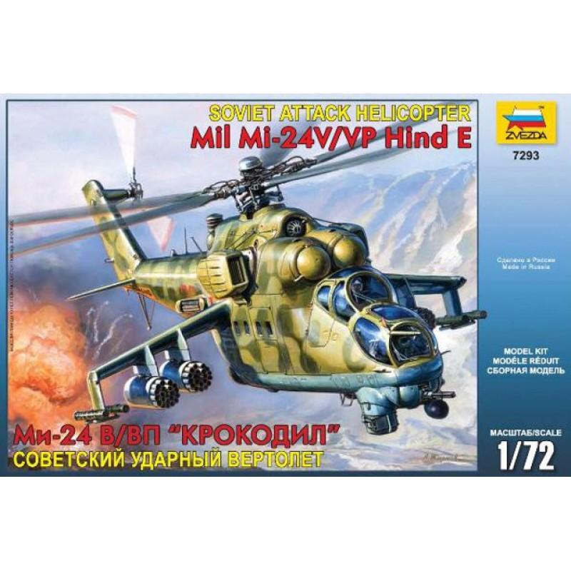 1/72 SOVIET ATTACK HELI MIL MI-24V/VP HIND E ΕΛΙΚΟΠΤΕΡΑ