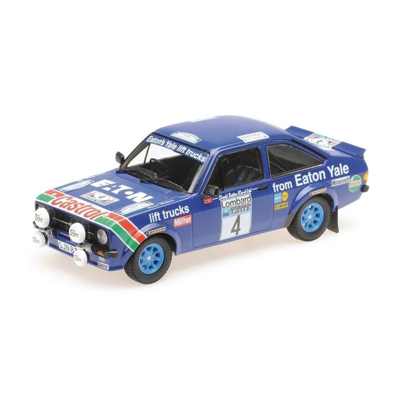 1/18 FORD ESCORT II RS1800 EATON YALE Nr.4 H.MIKKOLA/A.HERTZ WINNERS LOMBARD RAC RALLY 1978 (SEALED BODY) ΑΥΤΟΚΙΝΗΤΑ