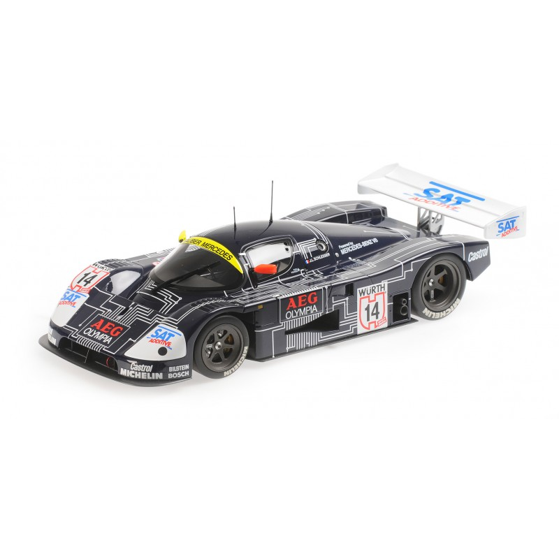 1/18 SAUBER MERCEDES C9 5.0L TURBO V8 TEAM SAUBER MERCEDES Nr.14 J.L.SCHLESSER WINNER SUPERCUP 1988 (SEALED BODY) ΑΥΤΟΚΙΝΗΤΑ