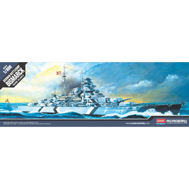 1/800 GERMAN BATTLESHIP BISMARCK ΠΛΟΙΑ