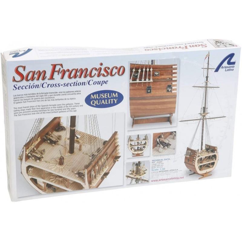 SAN FRANCISCO CROSS-SECTION ΞΥΛΙΝΑ ΠΛΟΙΑ
