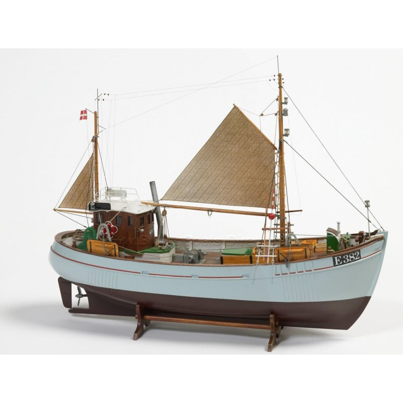 1/33 MARY ANN (Length 550mm) 45 TON FISHING BOAT CUTTER ΞΥΛΙΝΑ ΠΛΟΙΑ