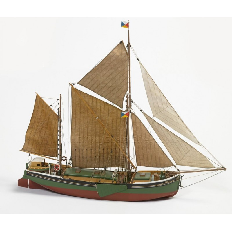 1/67 WILL EVERARD (Length 580mm) 280 TONS BARQUE ΞΥΛΙΝΑ ΠΛΟΙΑ