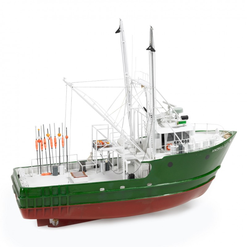1/30 ANDREA GAIL (Length 720mm) FISHING VESSEL ΞΥΛΙΝΑ ΠΛΟΙΑ