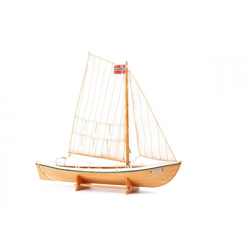 1/20 TORBORG (Length 320mm) NORWEGIAN ROWING & SAILING BOAT ΞΥΛΙΝΑ ΠΛΟΙΑ