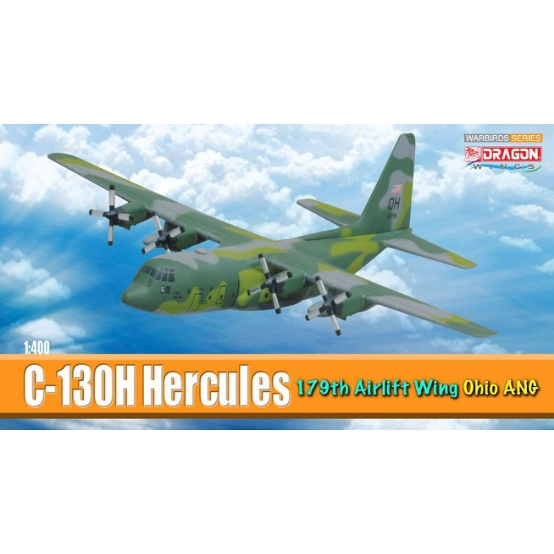 1/400 C-130H HERCULES 179th AIRLIFT WING OHIO ANG ΑΕΡΟΠΛΑΝΑ