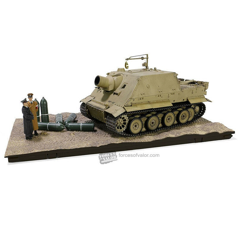 1/32 Sd.Kfz.181 STURMTIGER, Protype, Arys proving ground, East Prussia, October 20 1943 w/ 2 Figures & FULL INTERIOR DETAIL ΣΤΡΑΤΙΩΤΙΚΑ ΟΧΗΜΑΤΑ