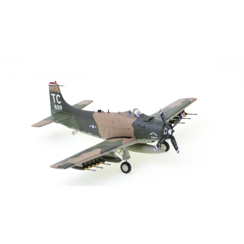 1/72 Douglas A-1H Skyraider ''The Good Buddha'' SN#34609, 1st SOS 56th SOW, Nakhon Phanom 1968 ΑΕΡΟΠΛΑΝΑ
