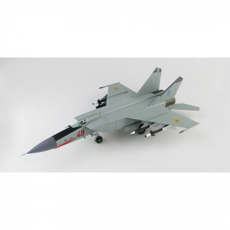1/72 MiG-25PD ''Foxbat'' Red 49, 146th Fighter Aviation Regiment, Ukranian Air Force, Vasilkov 1995 ΑΕΡΟΠΛΑΝΑ