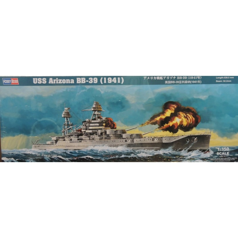 1/350 USS ARIZONA BB-39 1941 ΠΛΟΙΑ