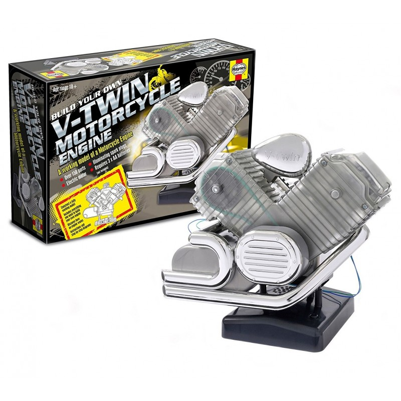 V-TWIN MOTORCYCLE ENGINE WITH IGNITION SOUND ΔΙΑΦΟΡΑ KITS