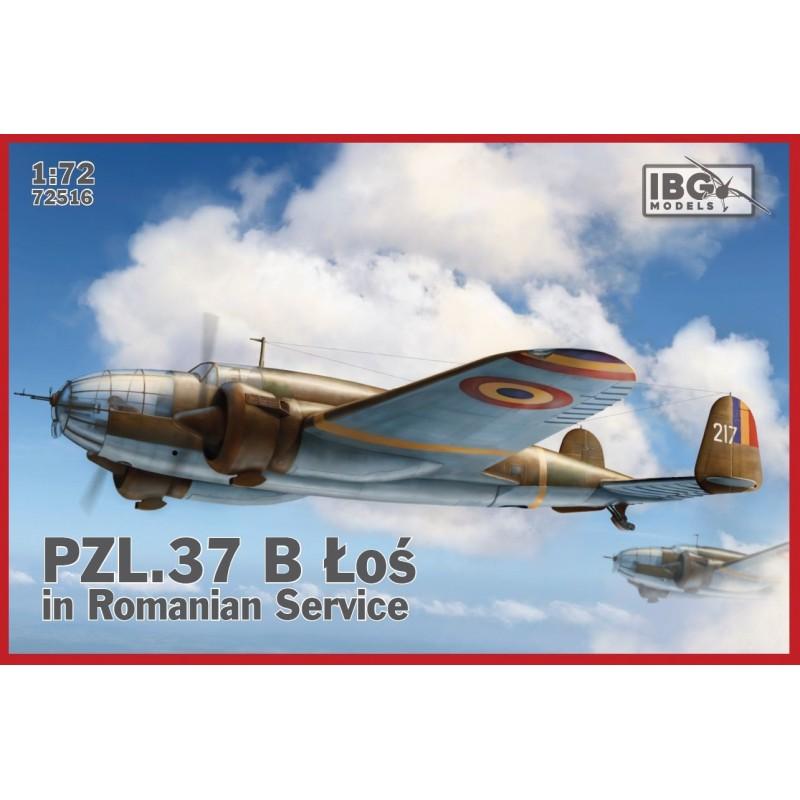 1/72 PZL.37 B LOS IN ROMANIAN SERVICE ΑΕΡΟΠΛΑΝΑ