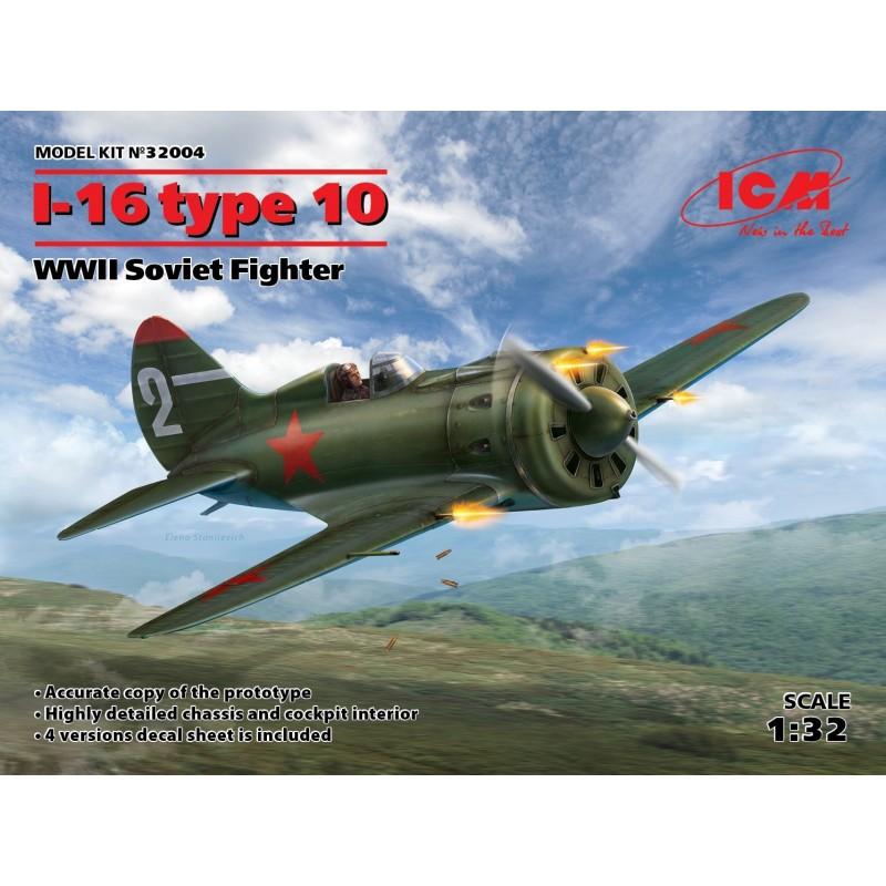1/32 I-16 type 10 WWII Soviet Fighter ΑΕΡΟΠΛΑΝΑ