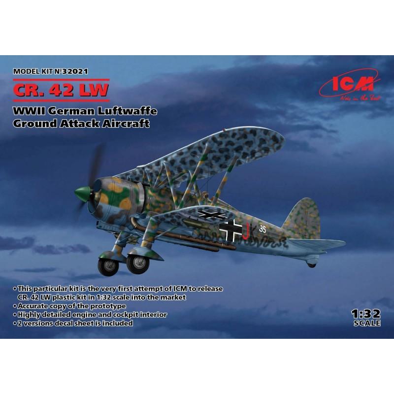 1/32 CR. 42 LW WWII German Luftwaffe Ground Attack Aircraft ΑΕΡΟΠΛΑΝΑ