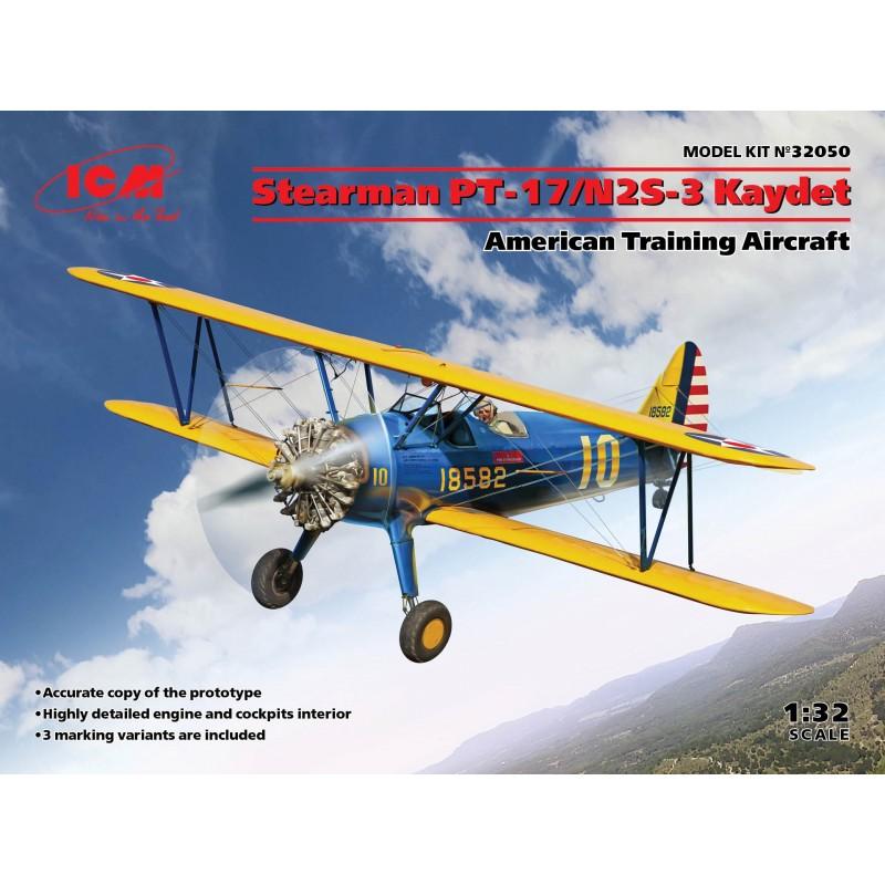 1/32 Stearman PT-17/N2S-3 Kaydet American Training Aircraft ΑΕΡΟΠΛΑΝΑ