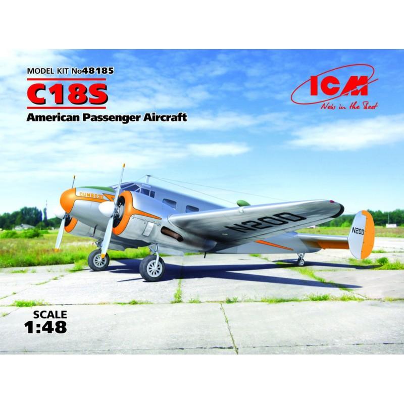 1/48 C18S AMERICAN PASSENGER AIRCRAFT ΑΕΡΟΠΛΑΝΑ