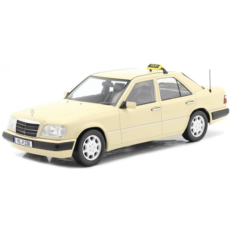 1/18 MERCEDES BENZ E-CLASS (W124) 1989 TAXI LIGHT YELLOW (SEALED BODY) ΑΥΤΟΚΙΝΗΤΑ