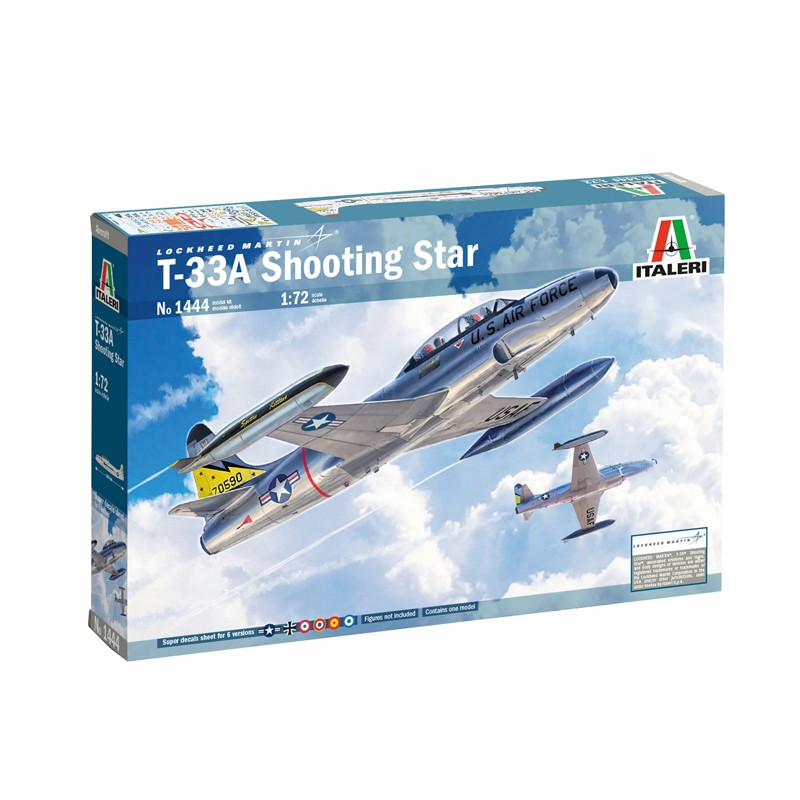 1/72 T-33A SHOOTING STAR (including Greek Decals) ΑΕΡΟΠΛΑΝΑ