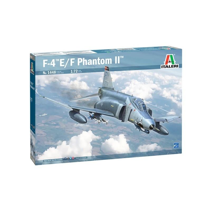 1/72 F-4 E/F Phantom II (including Greek Decals) ΑΕΡΟΠΛΑΝΑ