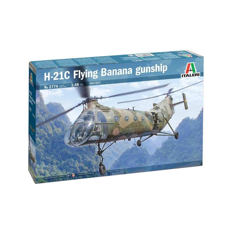 1/48 H-21C FLYING BANANA GUNSHIP ΕΛΙΚΟΠΤΕΡΑ